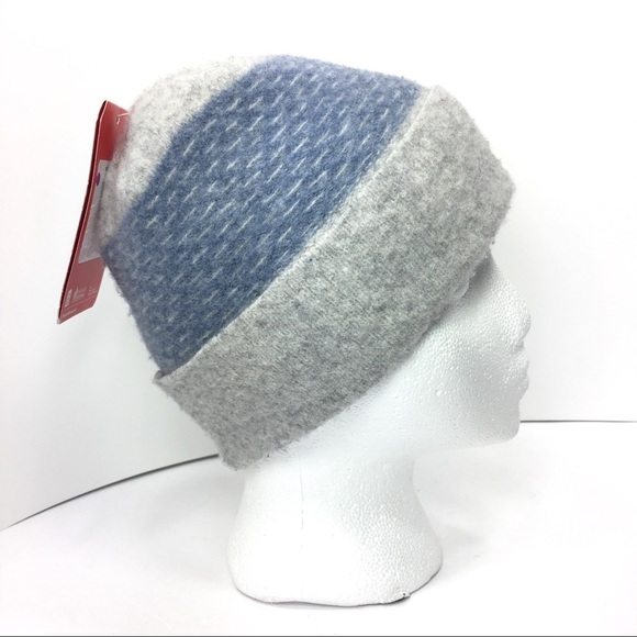d19a6ba092e North Face Felted Wool Beanie L XL Uni Gray Blue